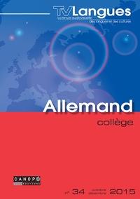 Emmanuelle Chiffre - TVLangues allemand collège n° 34 novembre 2015 - TVLangues allemand collège n° 34 novembre 2015 580868.