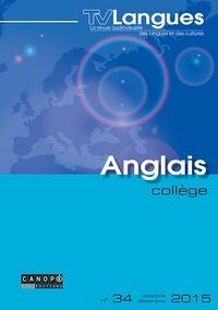 Biserka Mémisévic - TVLangues anglais collège n° 34 novembre 2015 - TVLangues anglais collège n° 34 novembre 2015 580870.