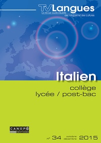 Claudine Maggina - TVLangues italien collège / lycée / post-bac n° 34 octobre 2015 - TVLangues italien collège / lycée / post-bac n° 34 octobre 2015 580616.