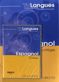 CRDP de Bourgogne - TVLangues N° 19, Octobre-décem : Espagnol collège. 1 DVD