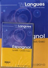 CRDP de Bourgogne - TVLangues N° 19, Octobre-décem : Espagnol lycée / post-bac. 1 DVD