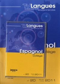 CRDP de Bourgogne - TVLangues N° 20, Janvier-mars : Espagnol collège. 1 DVD