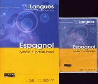 Académie de Dijon - TVLangues N° 38, janvier-mars  : Espagnol lycée, post-bac. 1 DVD