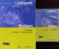 Académie de Dijon - TVLangues N° 38, janvier-mars  : Italien collège, lycée, post-bac. 1 DVD