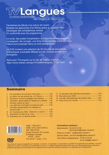 TVLangues N° 45, avril-juin 20 Espagnol collège -  avec 1 DVD