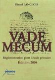 CRDP Académie de Grenoble - Vade mecum Réglementation pour l'école primaire - CD-ROM.