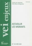 Bernard Bier - VEI Enjeux N° 125, Juin 2001 : Accueillir les migrants.
