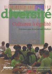 Emmanuel Wallon - Ville-Ecole-Intégration Diversité N° 148, Mars 2007 : Des cultures à égalité ?.