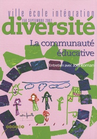 Joël Roman - Ville-Ecole-Intégration Diversité N° 150, Septembre 20 : La communauté éducative.