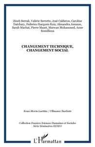 RESEO et José Calderon - Changement technique, changement social.