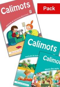 Alixetmika.fr Français CP Calimots - Pack en 3 volumes : Manuel de code ; Manuel de lecture ; Mémo des mots Image