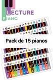 Retz - Outil piano - Pack de 15.