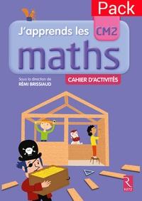 Retz - Pack de 6 cahiers d'activités Maths CM2.