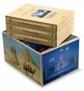 Reuel Golden - National Geographic - Le tour du monde en 125 ans, coffret 3 volumes : Asie et Océanie ; Europe et Afrique ; Amérique du Nord et du Sud & Antarctique.