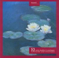 Réunion des Musées Nationaux - Monet - 10 cartes doubles et enveloppes.