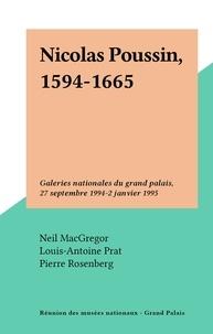 Réunion des Musées Nationaux et  Royal academy of arts - Nicolas Poussin, 1594-1665 - Galeries nationales du grand palais, 27 septembre 1994-2 janvier 1995.