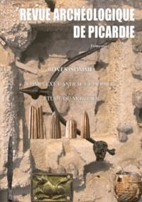 """Philippe Racinet - Revue Archéologique de Picardie N° 1-2/2012 : Boves (Somme) Complexe castral et prioral du """"quartier Notre-Dame"""" - Etude du mobilier (1996-2005)."""