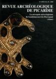 Alain Nice - Revue Archéologique de Picardie N° spécial 25/2008 : La nécropole mérovingienne de Goudelancourt-lès-Pierrepont (Aisne).