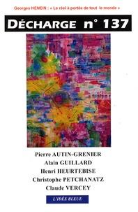 Pierre Autin-Grenier et Alain Guillard - Décharge N° 137, Mars 2008 : .