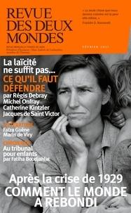 Revue des deux mondes - Revue des deux Mondes Février 2021 : La crise de 1929.