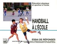 Revue EPS - Handball à l'école.