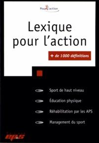 Revue EPS - Lexique pour l'action.