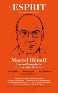Revue Esprit - Esprit N° 1094, juin 2020 : Marcel Henaff.
