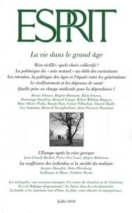 Jean-François Toussaint et Bernard Swynghedauw - Esprit N° 366, juillet 2010 : La vie dans le grand âge.