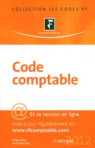 Revue fiduciaire - Code comptable 2012.