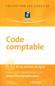 Revue fiduciaire - Code comptable 2013.