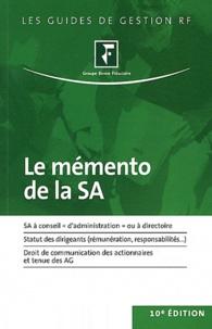 Revue fiduciaire - Le mémento de la SA.