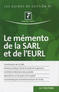 Revue fiduciaire - Le mémento de la SARL et de l'EURL.