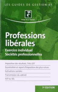 Revue fiduciaire - Professions libérales - Exercice individuel, sociétés professionnelles.