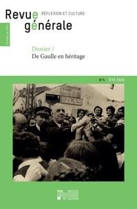Vincent Dujardin - Revue générale n°4 – été 2020 - Dossier – De Gaulle en héritage.