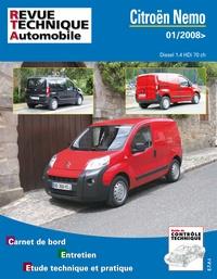 Revue technique automobile - Citroën Nemo Diesel 1.4 HDi 70ch (01/2008>).