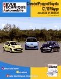 Revue technique automobile - Citroën/Peugeot/Toyota C1/107/Aygo essence et Diesel - 1.0 12V et 1.4D.