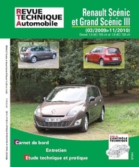 Revue technique automobile - Renault Scenic et Grand Scenic III 1.5dci 85/105/110 8v+1.9dci 130 8v.