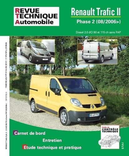 Revue technique automobile - Renault Trafic II Phase 2 Diesel 2.0 dCi 90 et 115 ch sans FAP (08/2006).