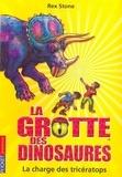 Rex Stone - La grotte des dinosaures Tome 2 : La charge du tricératops.