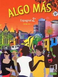 Reynald Montaigu et Elisabeth Mazoyer - Algo mas Espagnol 2e. 1 CD audio
