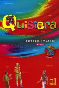 Reynald Montaigu et Elisabeth Mazoyer - Espagnol 1e année. 1 CD audio