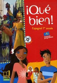 Reynald Montaigu et Elisabeth Mazoyer - Espagnol 1re année Qué bien!. 1 CD audio
