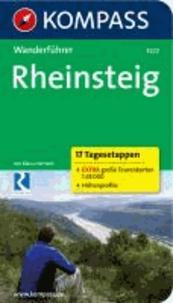 Rheinsteig - 17 Tagesetappen - Wanderführer.