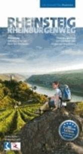 Rheinsteig & RheinBurgenWeg - Ein schöner Tag Wandern - 33 traumhafte Wandertouren rechts und links des Rheins. Rheinsteig: 320 Kilometer von Bonn bis Wiesbaden. RheinBurgenWeg: 200 Kilometer von Bingen bis Rolandseck.