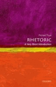 Rhetoric: A Very Short Introduction.