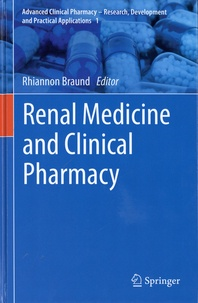 Rhiannon Braund - Renal Medicine and Clinical Pharmacy.