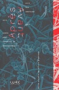 Rencontres de Lure - Après/Avant - Revue annuelle de culture graphique N° 1 : .