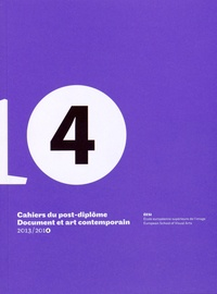 Sabrina Grassi-Fossier - Cahiers du post-diplôme N° 4/2013-2014 : Glissements méthodologiques.