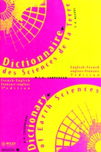 Rhodes Whitmore Fairbridge et  Carpenter - Dictionary of earth science - English-French, French-English.