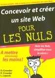 Rhonda Crowder et David Crowder - Concevoir et créer un site Web Pour Les Nuls.
